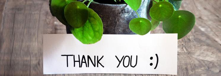carta de agradecimiento por donación