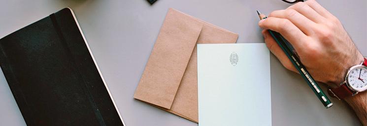 carta de agradecimiento en inglés