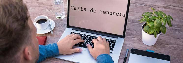 carta de renuncia venezuela
